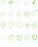 Elements4 vert Photos stock
