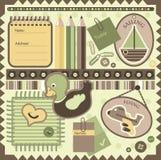 elementscrapbook Arkivfoto