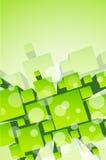 elementtech för bakgrund 3d Vektor Illustrationer