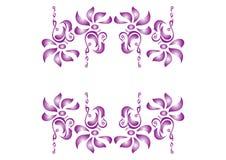 elementu dekoracyjny kwiat Obrazy Stock