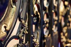elementu fechtunka żelaza metal dokonany Obrazy Stock