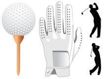 elementu golf royalty ilustracja