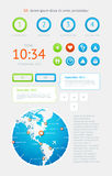 elementu infographics Zdjęcia Royalty Free