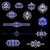 elementu rocznik royalty ilustracja