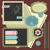 elementu scrapbook Obraz Royalty Free