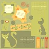 elementu scrapbook Ilustracja Wektor