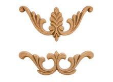 Elementu woodcarving Obraz Royalty Free