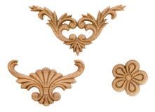Elementu woodcarving Zdjęcie Stock