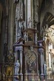 Elementy architektura są kościół St Stephen w Wiedeń w Austria Fotografia Royalty Free