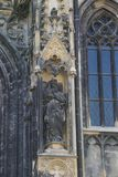 Elementy architektura są kościół St Stephen w Wiedeń w Austria Zdjęcie Royalty Free