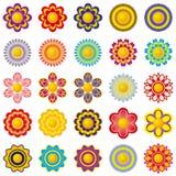 elementy dekoracje kwiaty royalty ilustracja
