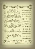 elementy dekoracyjni odłogowanie Zdjęcia Royalty Free