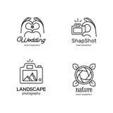 Elementy dla fotografów logów Obraz Stock