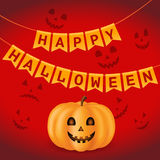 Elementy dla Halloween zdjęcie stock
