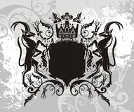 elementy godło royalty ilustracja
