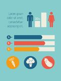 elementy infographic royalty ilustracja