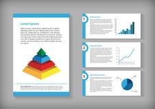 elementy infographic Obraz Stock