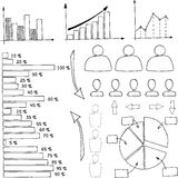 elementy infographic Fotografia Stock