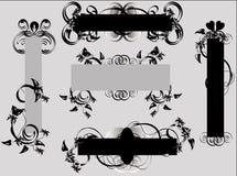 elementy kwieciści projektów Obraz Royalty Free