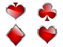 elementy na kasyno ilustracji
