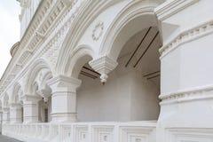 Elementy outdoors dekoracja Uspensky katedra w terytorium Karakułowy Kr Zdjęcia Royalty Free