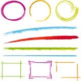 elementy projektów Obrazy Stock