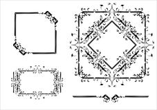 elementy projektów dekoracyjnych Zdjęcie Royalty Free