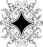 elementy projektu kwiatek ramy wektora Royalty Ilustracja
