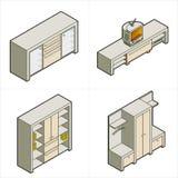 elementy projektu p 16 a ilustracja wektor