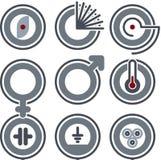 elementy projektu p 7 b royalty ilustracja