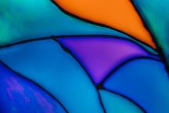 elementy projektu tła kolorowe szkło oznaczane obraz stock