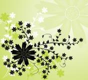 elementy projektu tła kwiatek wektora Ilustracja Wektor