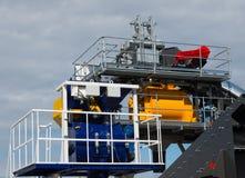 Elementy ropa i gaz zakład przetwórczy z drymby linią obraz royalty free