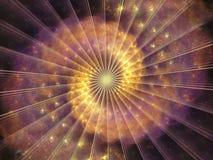 Elementy spirala wzór Fotografia Stock