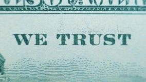 Elementy sto dolarów dolara amerykańskiego rachunek w górę zbiory