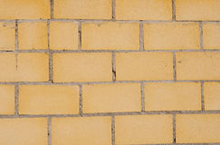 Elementy tworzy kolor żółty ścianę Obraz Royalty Free