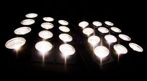 elementy urządzeń oświetlenia Obrazy Stock