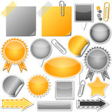 elementy ustawiający Zdjęcie Stock