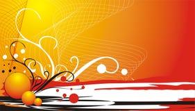 elementy wizytówek dekoracyjni tło Zdjęcia Royalty Free
