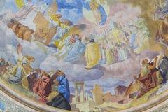Elementy wnętrze wnętrze St John ` s bazylika Zdjęcia Stock