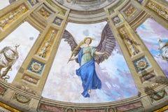 Elementy wnętrze wnętrze St John ` s bazylika Zdjęcie Stock