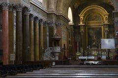 Elementy wnętrze wnętrze St John ` s bazylika Zdjęcia Royalty Free