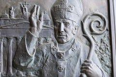 Elementy wnętrze wnętrze St John ` s bazylika Obraz Stock