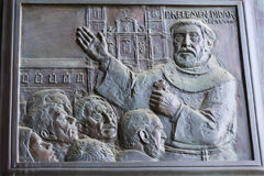 Elementy wnętrze wnętrze St John ` s bazylika Zdjęcie Royalty Free