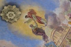 Elementy wnętrze wnętrze St John ` s bazylika Obrazy Royalty Free