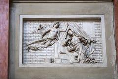 Elementy wnętrze wnętrze St John ` s bazylika, Zdjęcie Stock