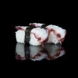 elementy zaprojektowane menu ośmiornice restauracji bardzo użyteczne sushi Zdjęcie Stock