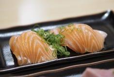 elementy zaprojektowane menu restauracji sushi łososia bardzo przydatne Zdjęcie Royalty Free