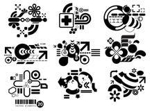 Elemetnts 20 Techno Стоковое Изображение