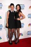 Elena Besser; Rachel Besser arrives at the 2011 American Giving Awards Stock Images